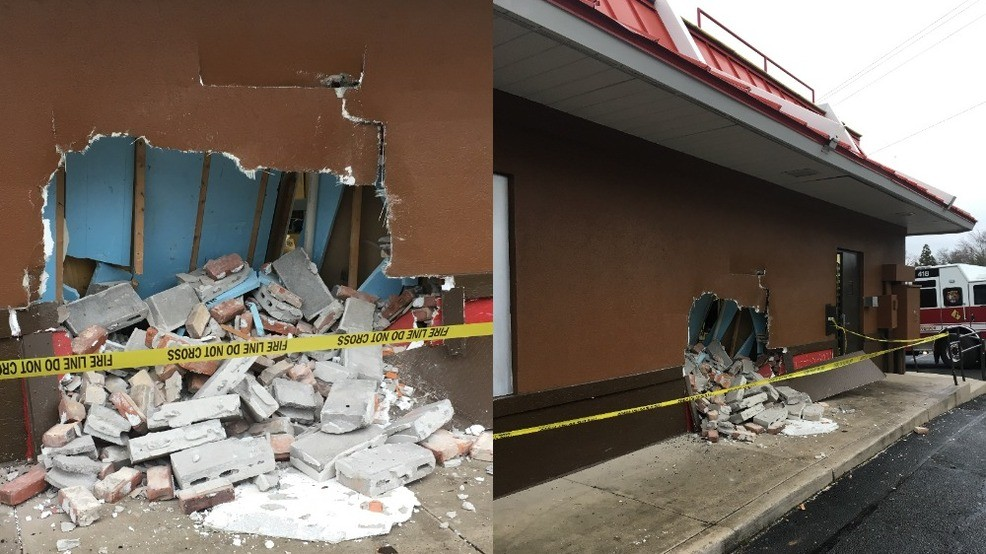 Not a drive-thru: Man crashes car into a McDonald's | KLEW